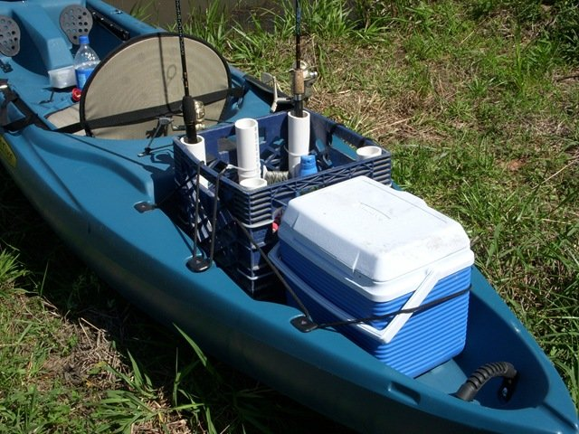 Although trolling motors can be the trickiest part of a for Kayak fishing pole holder
