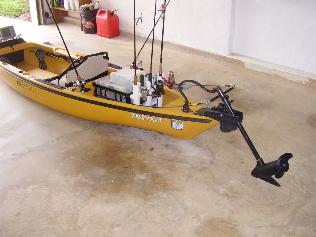 fishing kayaks with trolling motor