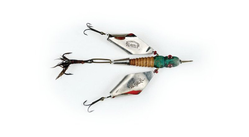5 antique fishing lures worth a pretty penny for Old fishing rods worth money