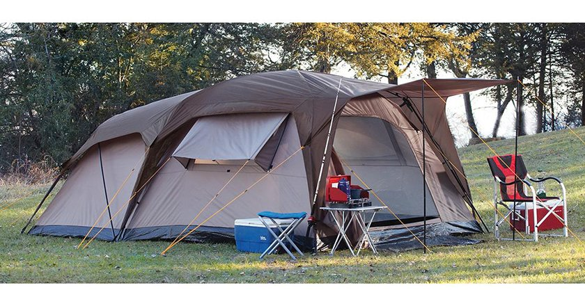 This three-season tent is perfect for hunting c&ing and family vacations. The 1500mm polyurethane coating outside and bathtub-style floor ensure ... & Camp Like a Champ With These 10 Great Tents Under $200