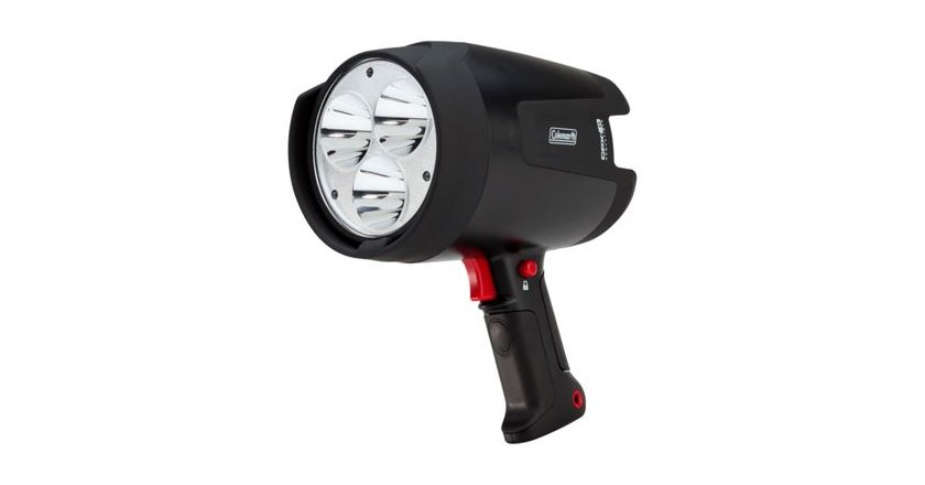 Top 12 hunting and fishing spotlights of all time this spotlights high power lifetime leds provide light for up to 7 hours on high mode 24 hours on low spotlight mode aloadofball Images