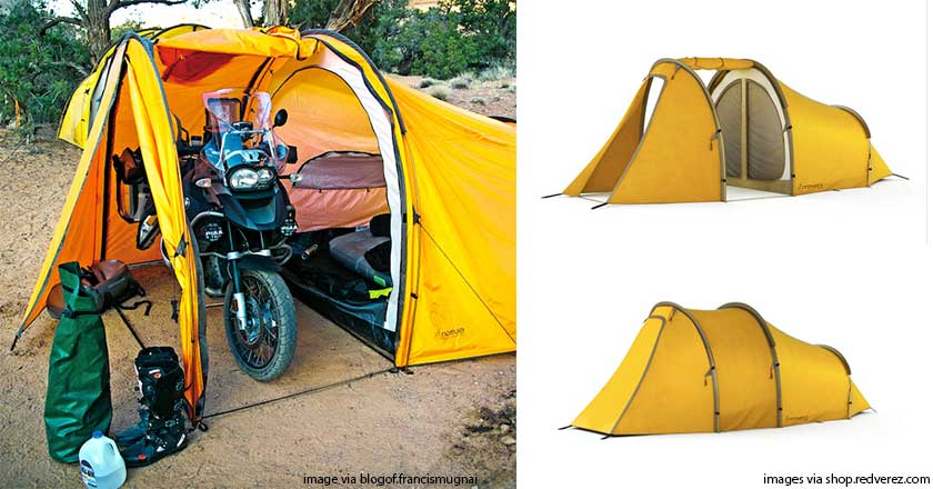 If you own a motorcycle you probably baby it too. With this tent you can cover up your ride and sleep next to it too. The Series II Expedition Tent has a ...  sc 1 st  Wide Open Spaces & 10 Incredibly Cool Tents We Canu0027t Wait to Crawl Into