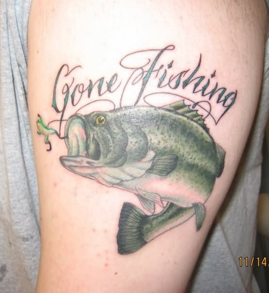 Naked fish tattoos