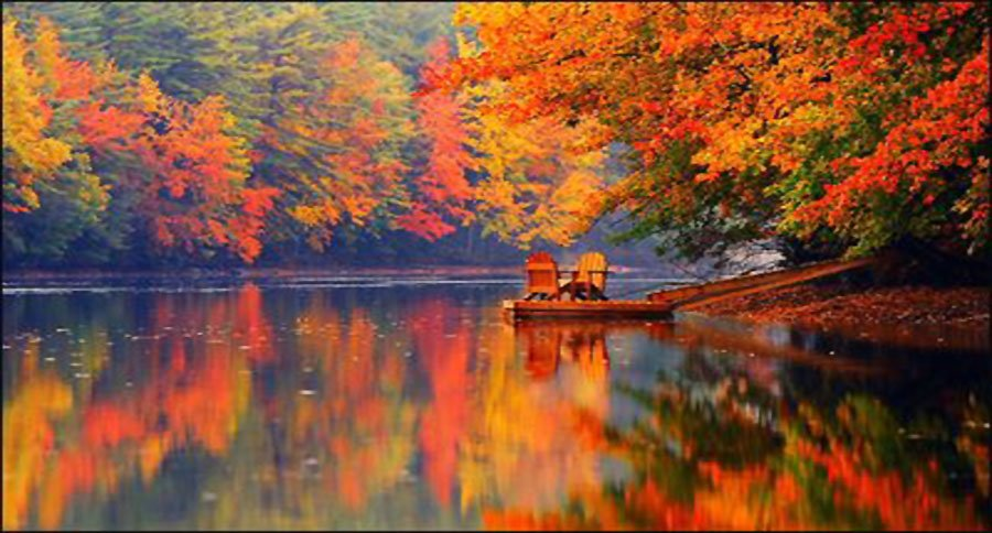 Top Ten New England Places to See Fall Foliage