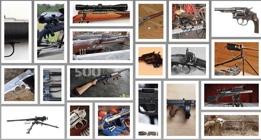 50 guns that shaped the world