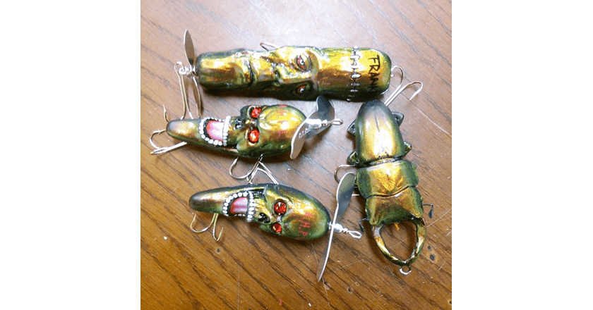 20 weirdest looking fishing lures that actually work pics for Japanese fishing lures