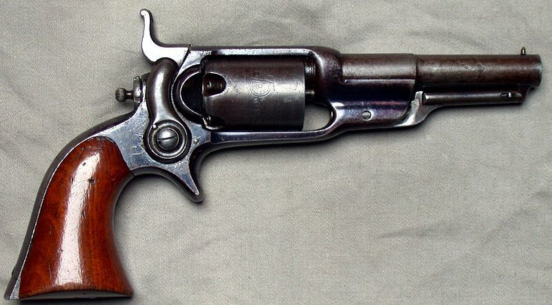 An 1855 Root Revolver. (Wikimedia Commons)