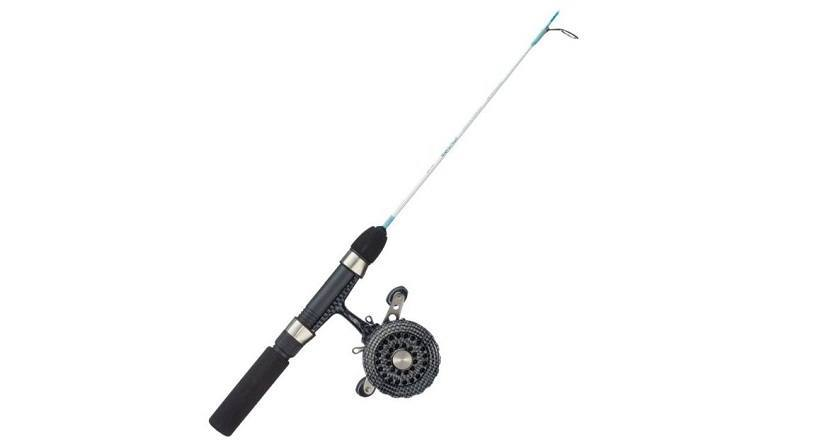 eagle claw cold smoke ice fishing rod