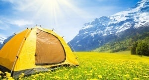 Camping Tent In