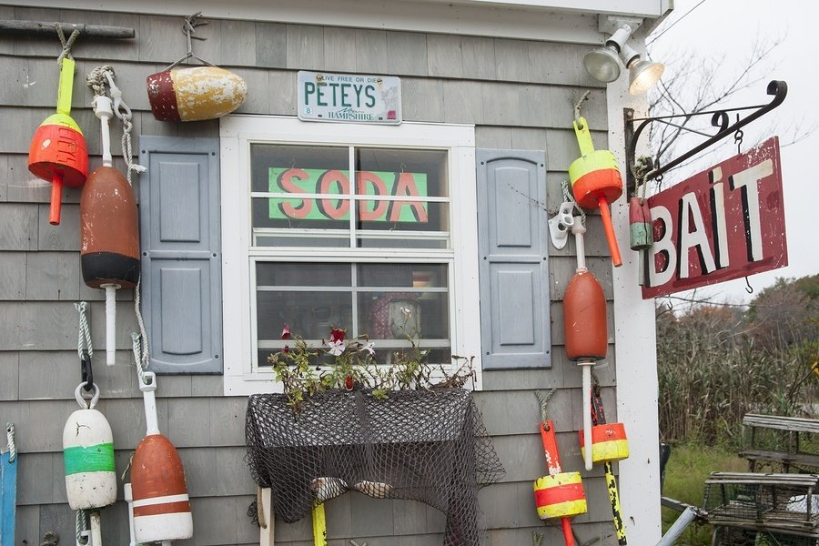 New England bait shop