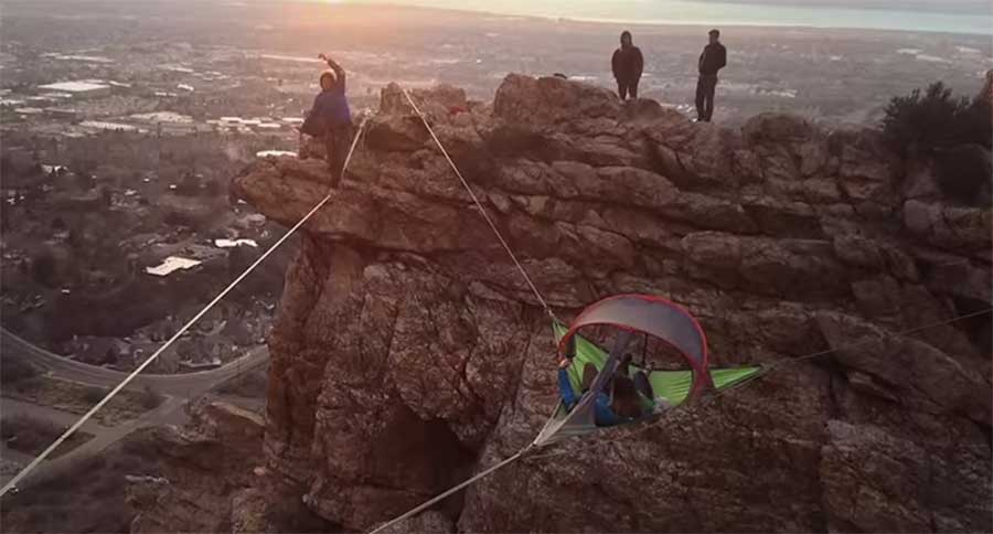 & Tentsile Tents Lift the Camping Concept Off the Ground [VIDEO]