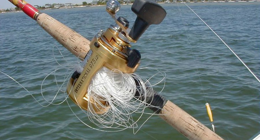 6 things you didn 39 t know about the fishing reel for Open reel fishing pole
