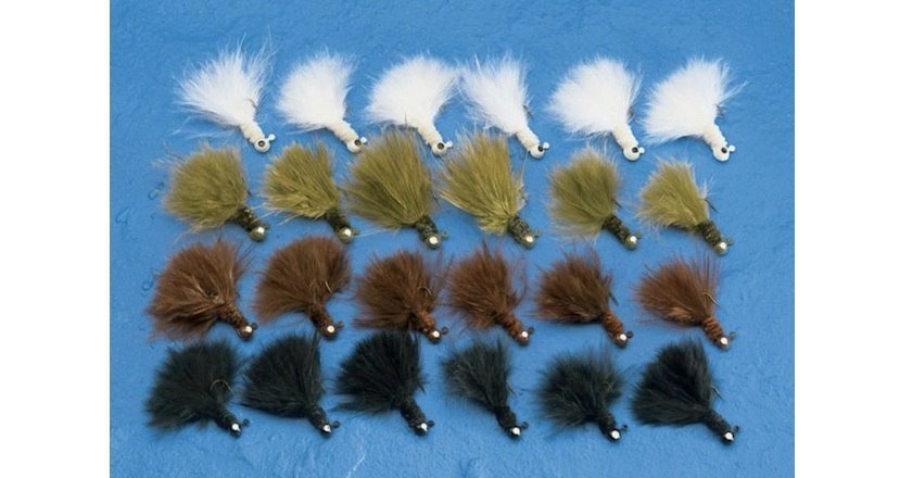 trout lure marabou jig