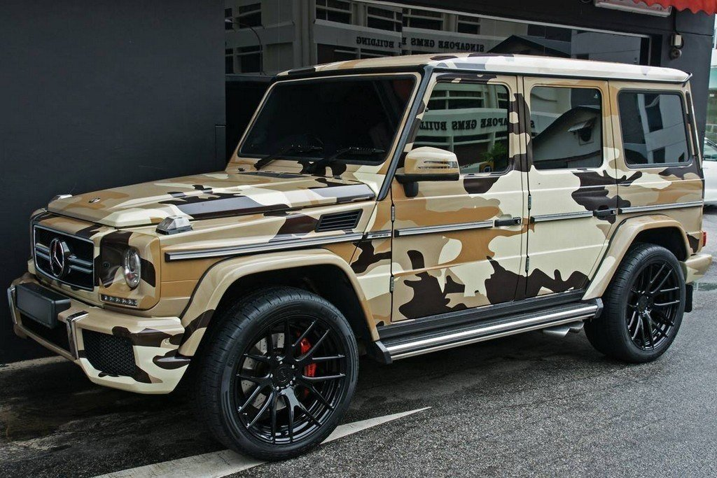 Are You Camo Crazy Enough to Wrap Your Car in Camouflage ...