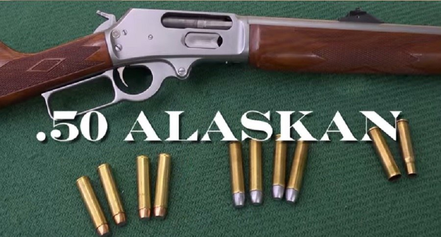 The  50 Alaskan Lever Action Rifle is Perfect for Extreme Bear