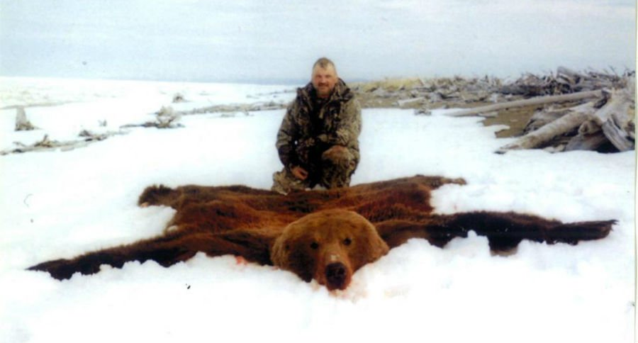 Aninimal Book: World Record Grizzly Bear