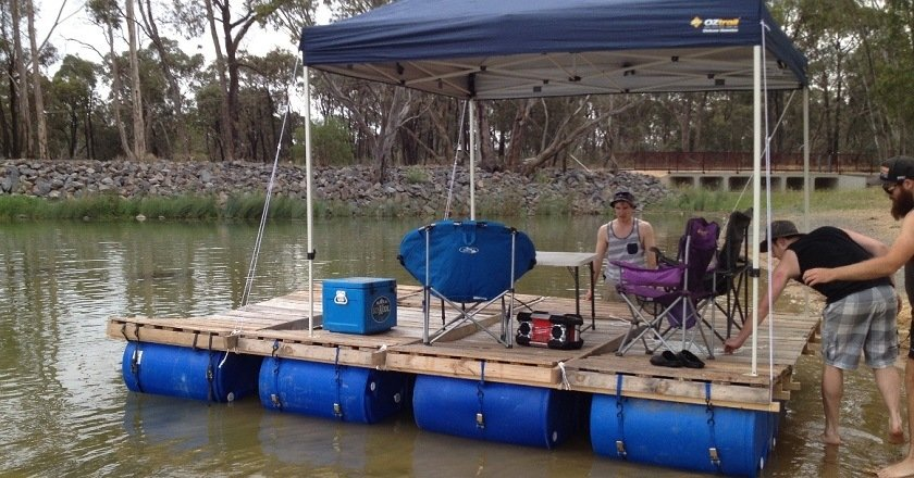 How To Build Your Own Party Barge This Summer