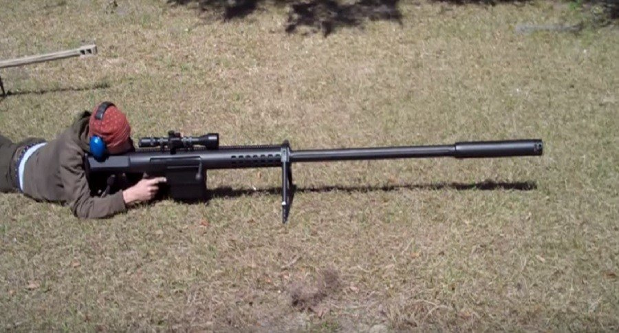 Feel the power of the anzio ironworks 20mm rifle video
