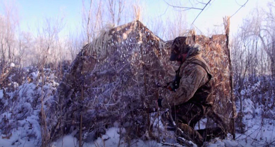 Learn How To Build A Diy Duck Blind For Less Than 40