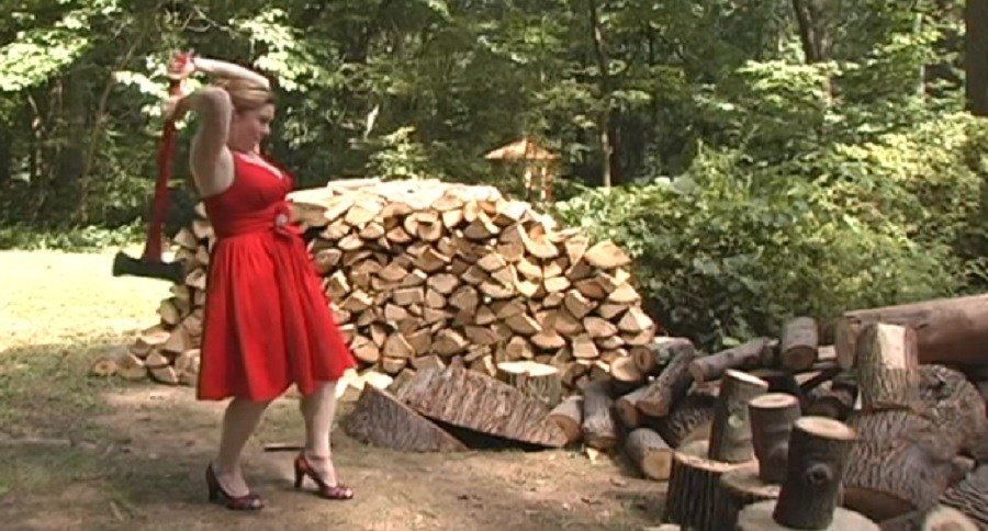 What Not To Wear While Chopping Firewood Video