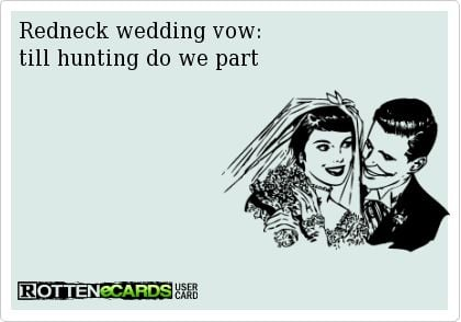 Redneck Marriage Vow