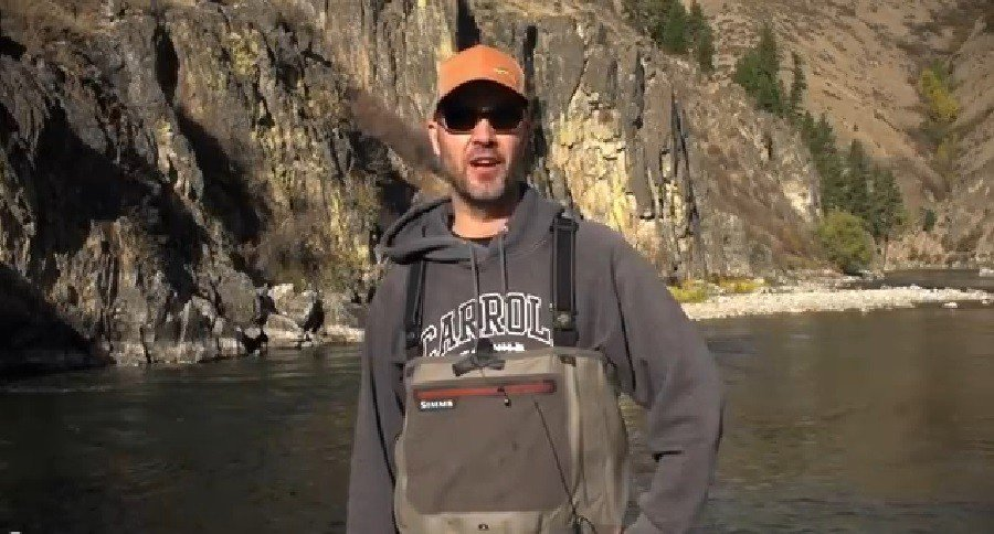 Watch hank patterson introduce newcomers to fly fishing for Hank patterson fly fishing