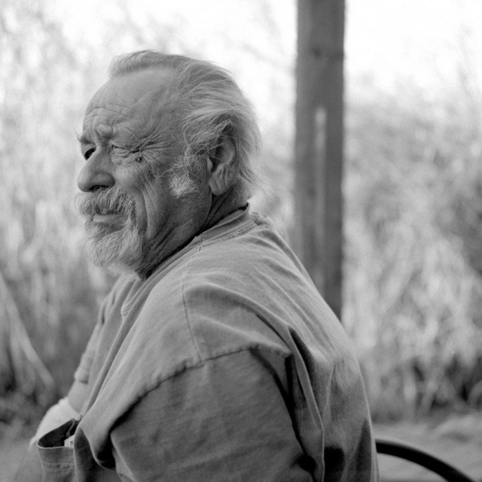 Author Jim Harrison. Courtesy of Grove Atlantic.
