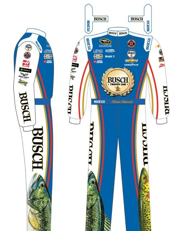 K. Harvick Talladega Fire Suit