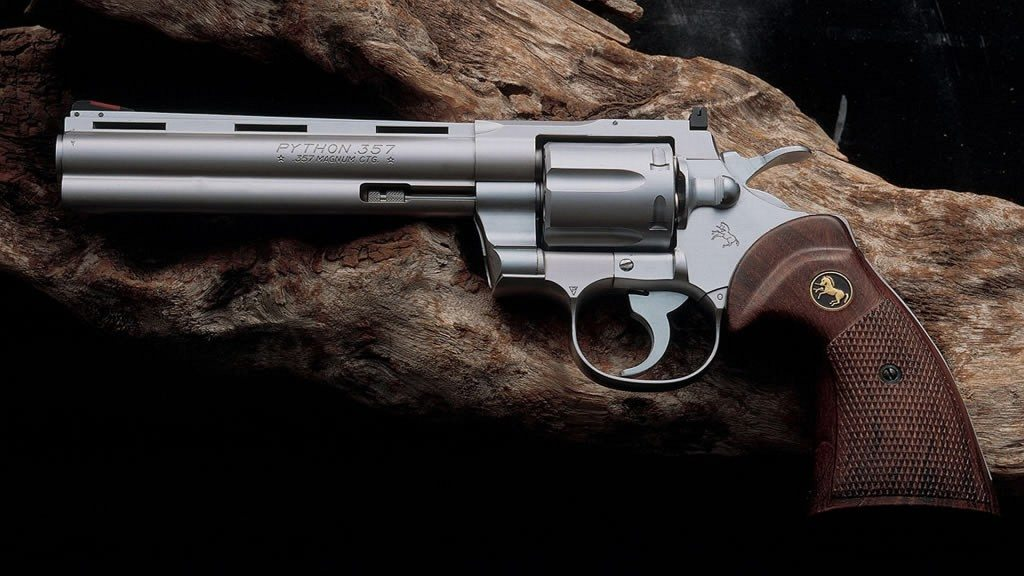 Colt Python - Photo via: https://wall.alphacoders.com/big.php?i=174591