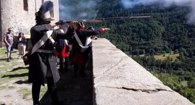 musket fast shooting