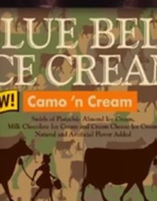 Blue Bell Introduces New Camo 'n Cream Ice Cream Flavor Just In Time For Hunting Season