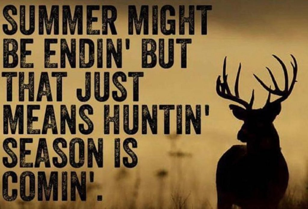 deer season is coming meme 1024x696 10 bowhunting memes every hunter can seriously relate to