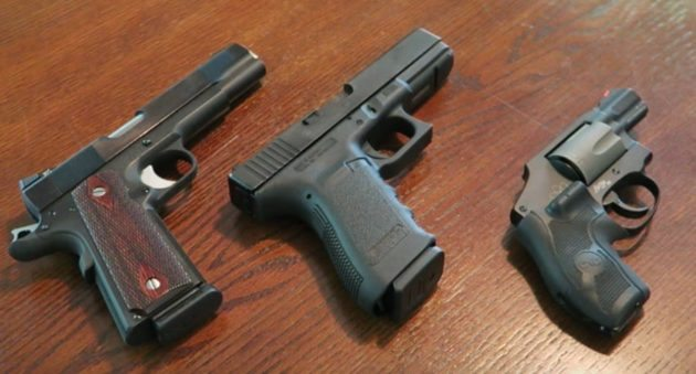 Backup Guns For The Woods: Do 357 Sig or 40 S&W Make The Grade?