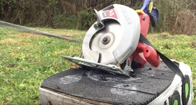 Shoot A Circular Saw