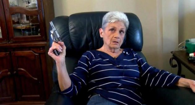 Pistol Wielding Grandma Runs Off Burglar In Texas: That's One Old Lady You Don't Want To Mess With