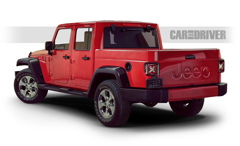 It's Finally Happening: The Jeep Wrangler Pickup Truck