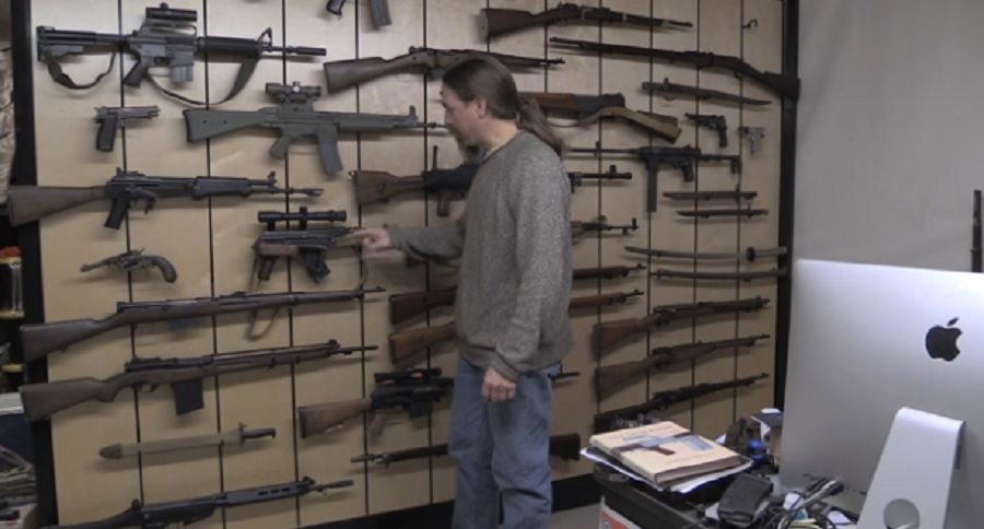 armory display wall matrix personal guns cool ian check wideopenspaces