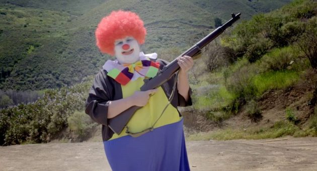 armed clowns