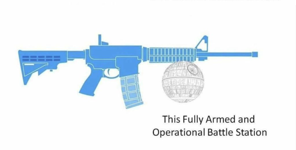 The Ridiculous Chainsaw Bayonet Video By USA Today Broke The Internet death star