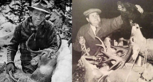 vintage hunting photos