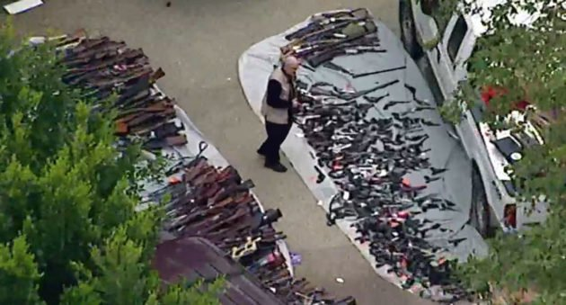 massive gun collection seized