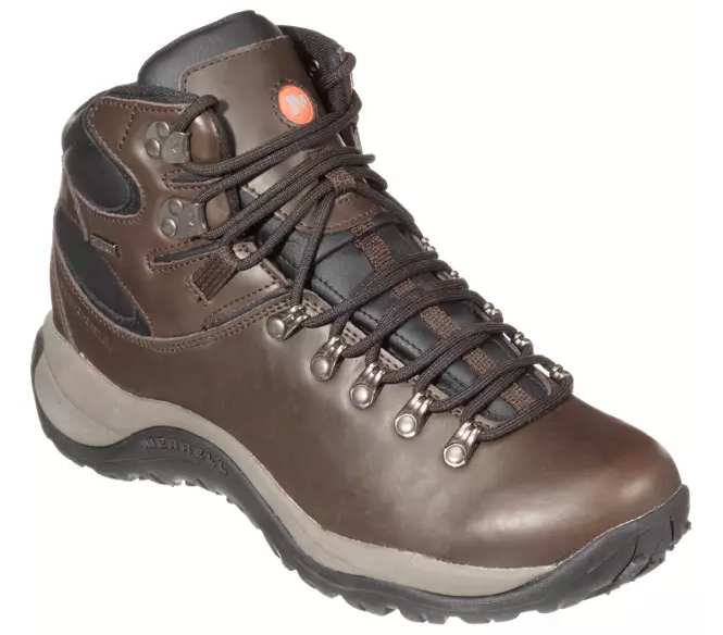 Merrell Reflex All-Leather Mid Waterproof Hiking Boots for Men